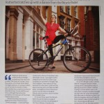 Article in London Cyclist, Xmas 2011