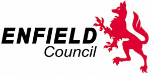 Logo for Enfield Borough Council