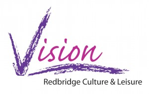 logo for Vision, Redbridge Culture & Leisure