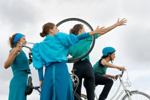Blazing Saddles, The Bicycle Ballet Co © Raysto Images