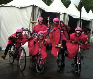 PINK Strictly Cycling for the Belfast start to Giro d'Italia  copy 2